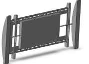 Metra introduces at CES Audio Solutions Wall TV Mount with built in audio speakers