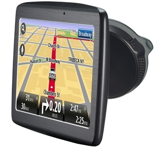 TomTom VIA portable GPS devices at CES are super slim