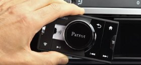 Parrot Asteroid, first Android Car radio:CES