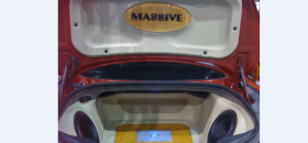 Masive Audio Rebel woofers at CES