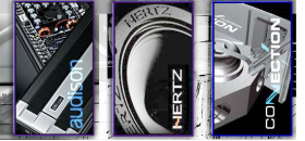 Hertz introduces first full range Class D car amps