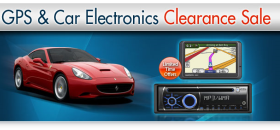 newegg holds car stereo sale