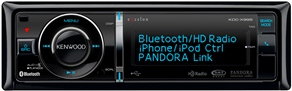 Kenwood's first Pandora car radio