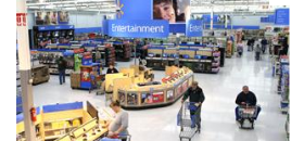 Walmart shrinks size of electronics stores