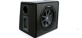 Kicker ships new SubStation powered subwoofers