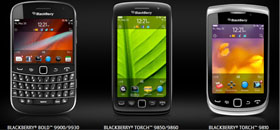 New BlackBerry Torch, Bold