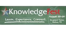 KnowledgFest trade show