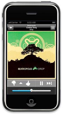 Pandora on iPhone