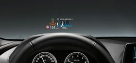 BMW head-up display