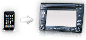 NAV-TV iPhone car kit