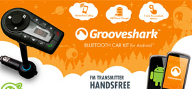 Grooveshark Car Kit