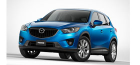 Mazda CX-5 with TomTom option