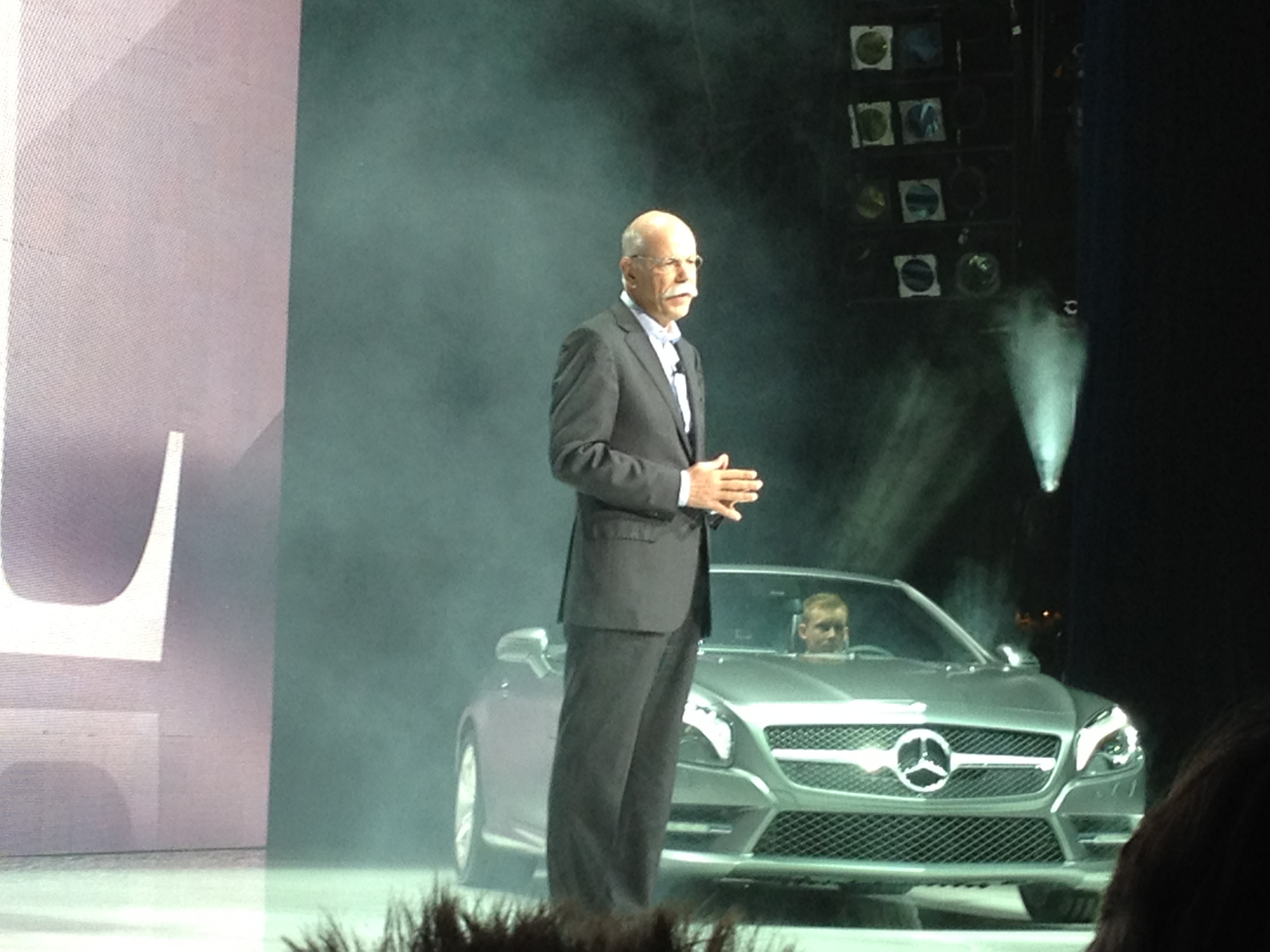 Head of Mercedes-Benz to Give Keynote at CES