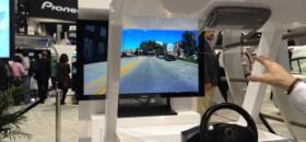Pioneer head up display CES 2012