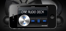 Car Audio Deck app