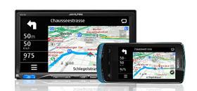Alpine ICS-X8 App Link Station is a European MirrorLink radio