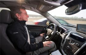 Cadillac semi-autonomous car