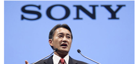Sony Corp.'s new CEO Kazuo Hirai