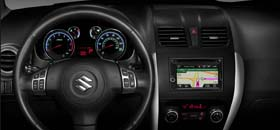Garmin-built car radio for 2013 Suzuki