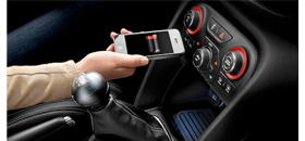 Chrysler wireless charger