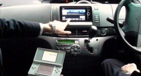 Toyota and Nintendo Navigation
