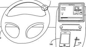 Apple Steering wheel patent