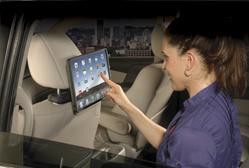 Audiovox iPad headrest mount