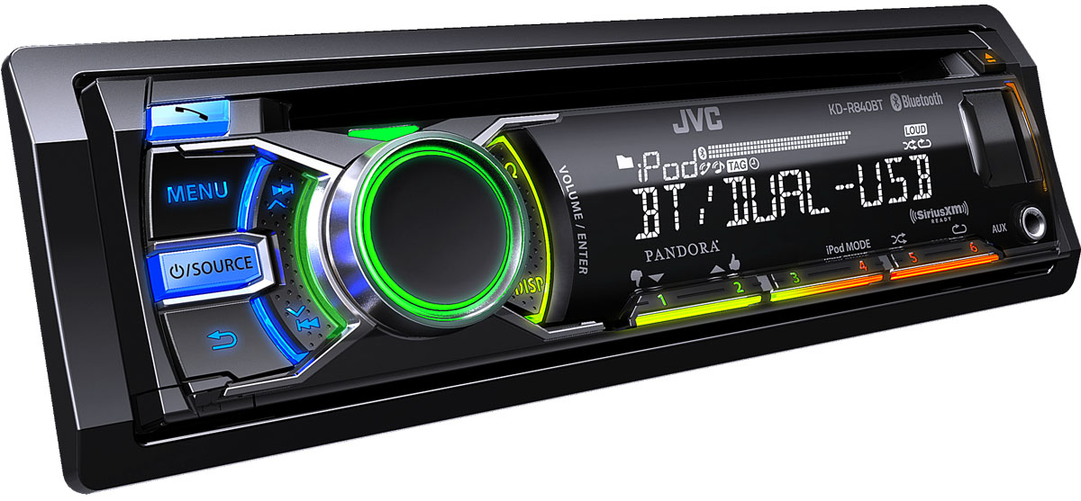ces jvc adds talking car cd players. Black Bedroom Furniture Sets. Home Design Ideas