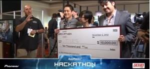 Pioneer Hackathon winners
