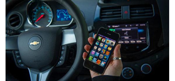 radio with smartphone