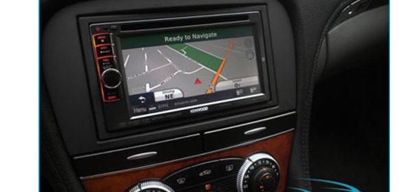 NAV-TV Mercedes-Benz radio replacement module