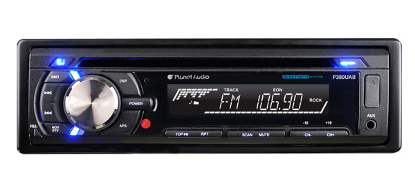 Planet Audio single DIN car radio 2013
