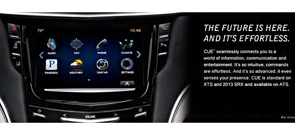 Cadillac Admits to Problems With CUE Infotainment