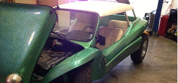 Steven Tyler dune buggy