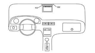 App;le car tablet mount