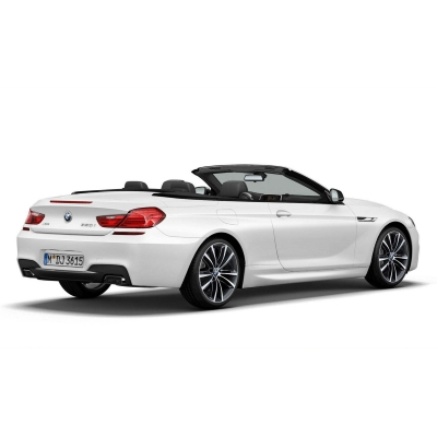 BMW 6 Frozen White