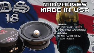 DS18 midrange drivers