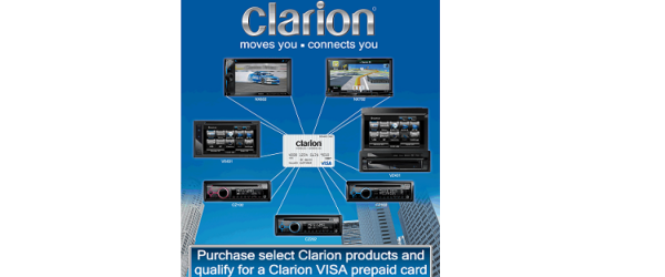 Clarion Launches Spring Rebate