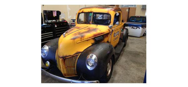 Steven Tyler 41 Ford pickup