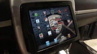 Underground Auto Styling tablet in Porsche