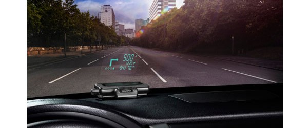 Aftermarket Head Up Display Launches From Garmin