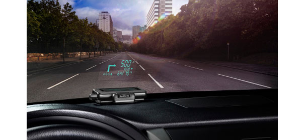 aftermarket head up display launches from garmin. Black Bedroom Furniture Sets. Home Design Ideas