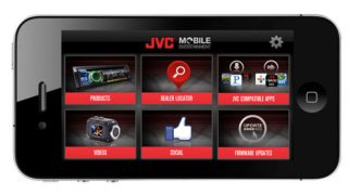 JVC Plugged-In app