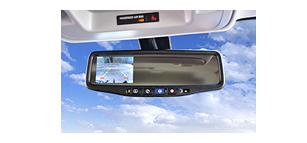 Brandmotion 2014 Silverado and Sierra backup cam