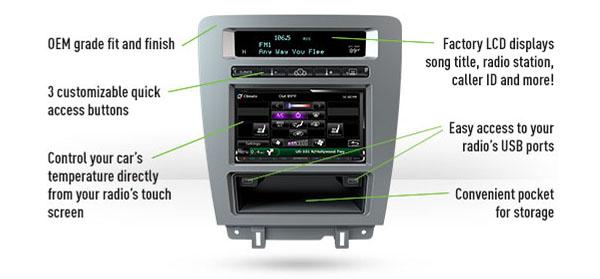 Maestro Mustang Dash Kit For Kenwood Shipsrhceoutlook: Ford Mustang Radio Dash Kit At Gmaili.net