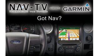 NAV-TV navigation for MyFord Touch