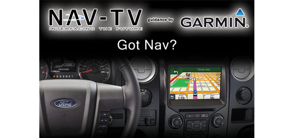 NAV-TV navigation for MyFord Touch