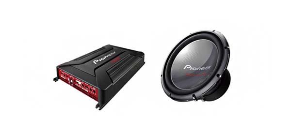 Pioneer 2014 amp sub