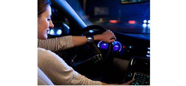 Car Tech Demo Driving
