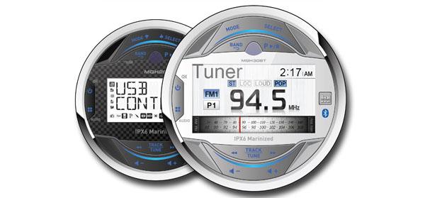 Dual marine gauge radios